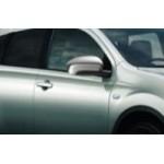 Накладки на зеркала хромированные Nissan Qashqai+2 (Ниссан Кашкай J10 (2007-2013)