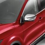 Накладки на зеркала хромированные (комплект 2 шт.) Nissan Qashqai J11 '2014- (Ниссан Кашкай J11)