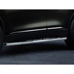 Молдинги на нижние части дверей (хром) Nissan X-Trail T32 '2015- (комплект 4шт) (Ниссан Икс-Трейл T32)