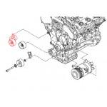 Ролик приводного ремня с натяжителем Nissan Teana J32 / Murano Z51 (Ниссан Мурано Z51)