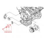 Ролик приводного ремня A/C Nissan Teana J32 / Murano Z51 (VQ25DE / VQ35DE) (Ниссан Мурано Z51)