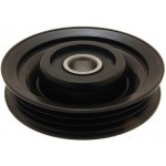 Ролик натяжителя приводного ремня (оригинал) Micra K12 1.0-1.4 03-10 / Note E11 1.4 06> (Ниссан Ноут E11)