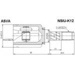 ШРУС ВНУТРЕННИЙ Nissan Mikra K12 (21x40x26) (Ниссан Микра K12)