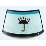 Стекло переднее лобовое с окном для датчика дождя Nissan Tiida (Ниссан Тиида C11)