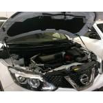 Упоры капота газовые (комплект) Nissan Qashqai J11 '2014- (Ниссан Кашкай J11)