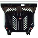 Защита поддона картера двигателя Nissan Almera Classic B10 / Almera N16 '00-06 (Ниссан Альмера Классик B10)