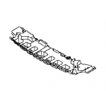 Защита переднего бампера нижняя (пыльник ) Nissan Tiida SC11X (Ниссан Тиида C11)