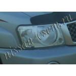 Защита передних фар прозрачные EGR Nissan Patrol 04-10 (Ниссан Патрол Y62)