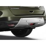 Декоративная защита заднего бампера Nissan X-Trail T32 '2015- (Ниссан Икс-Трейл T32)