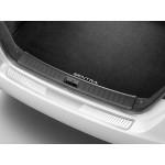 Защитная накладка на задний бампер (алюминий) Nissan Sentra '2014- (Ниссан Сентра B17)