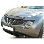 Дефлектор капота EGR Nissan Juke F15 '2010- (из черного ABS-пластика) (Ниссан Жук F15 (2011-)
